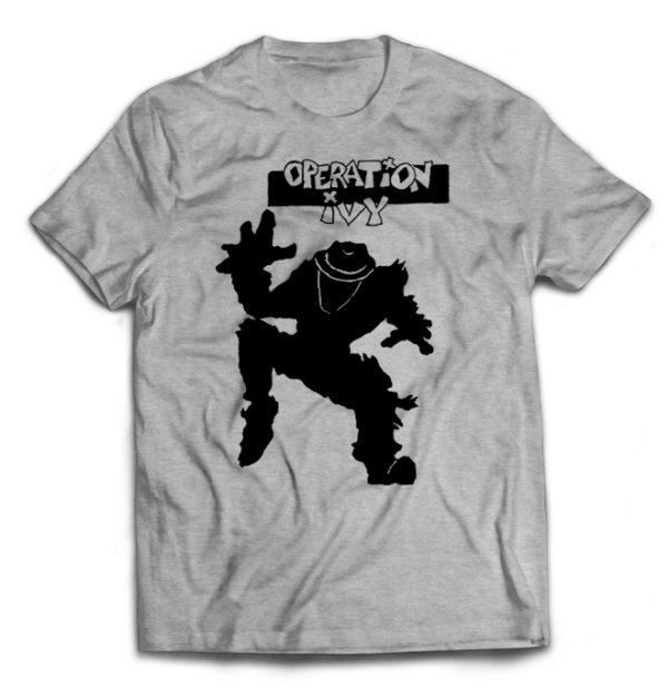 футболка серая Operation Ivy