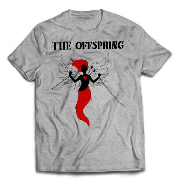 футболка серая Offspring