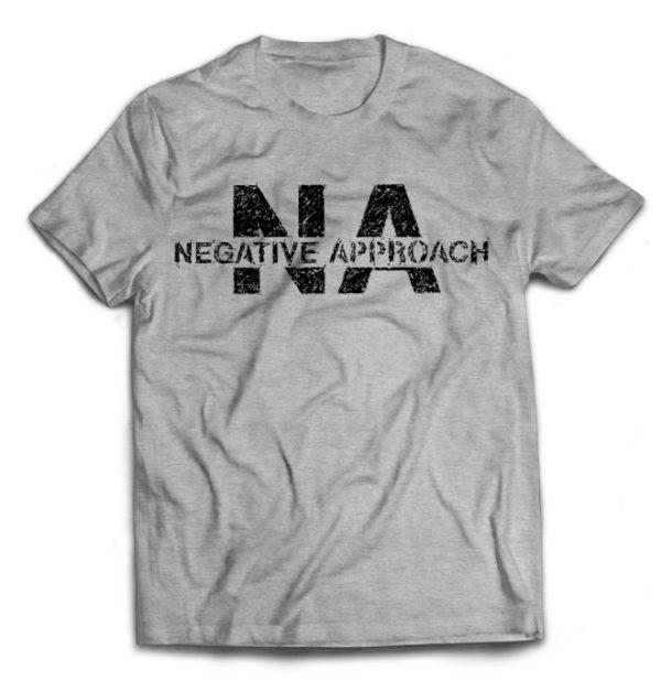 футболка серая Negative Aproach