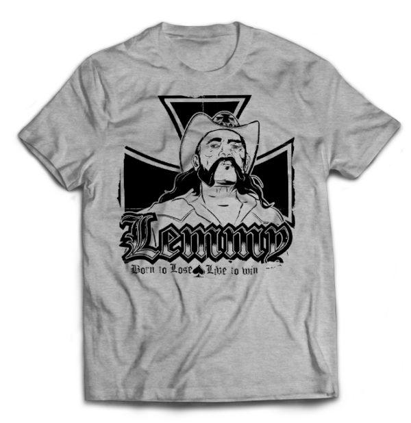 футболка серая Motorhead