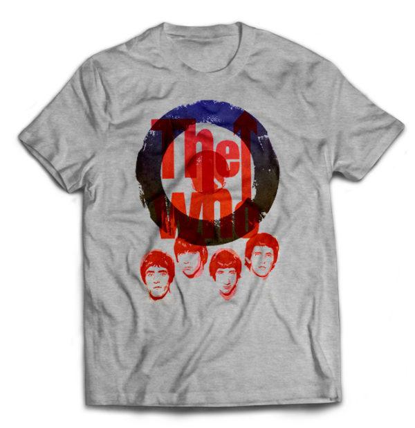 футболка серая The_Who