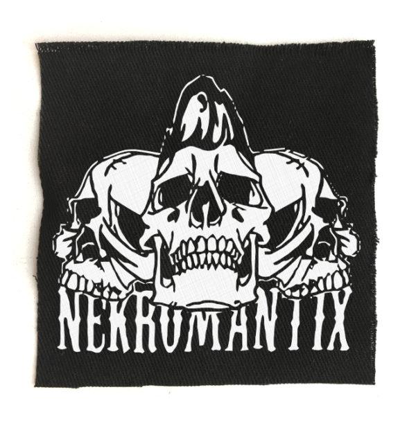 нашивка Necromantix