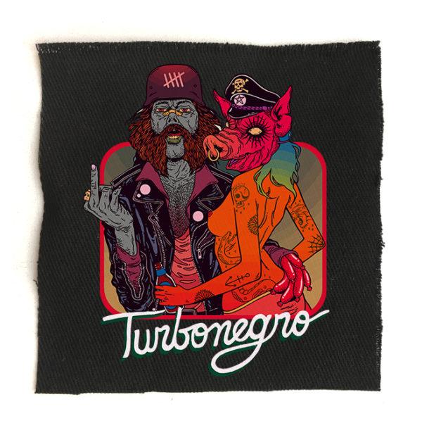 нашивка Turbonegro