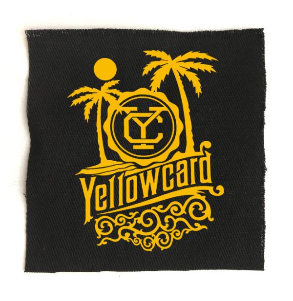 нашивка Yellowcard