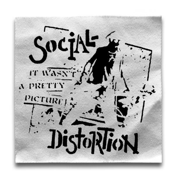 нашивка Social Distortion
