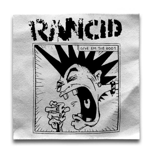 нашивка Rancid