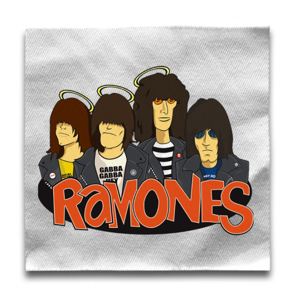 нашивка Ramones