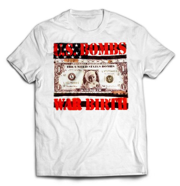 футболка белая U.S. Bombs