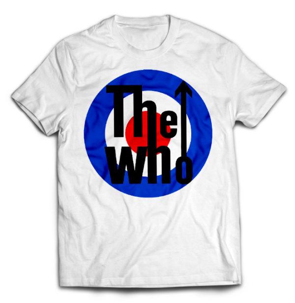 футболка белая The_Who