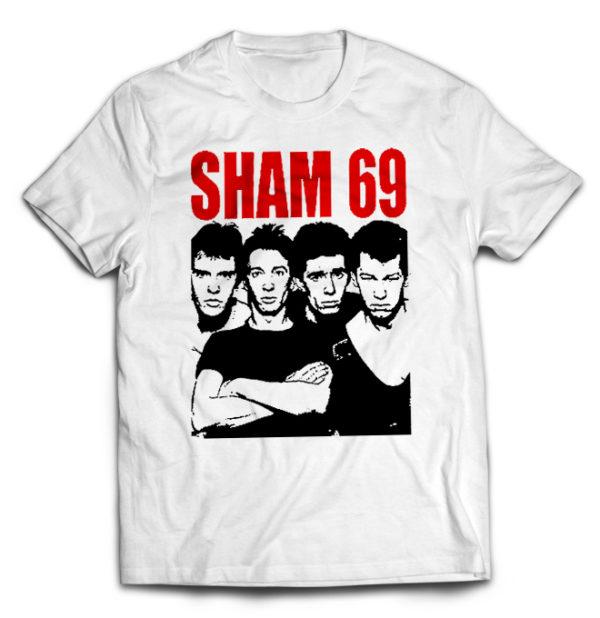 футболка белая Sham69