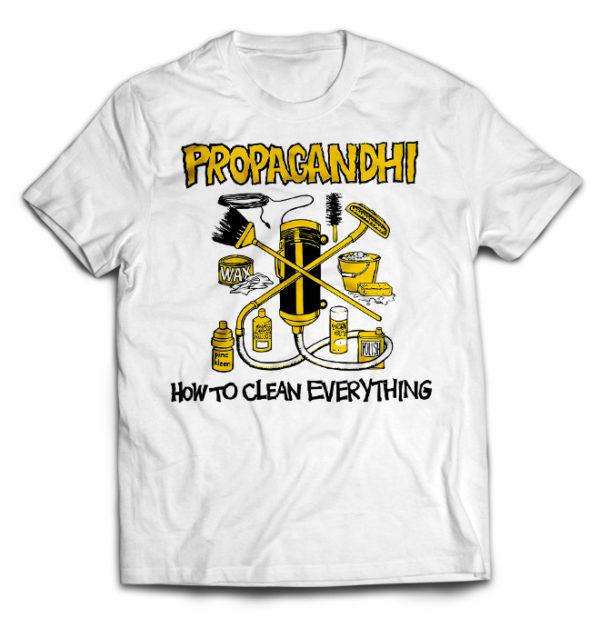 футболка белая Propagandhi
