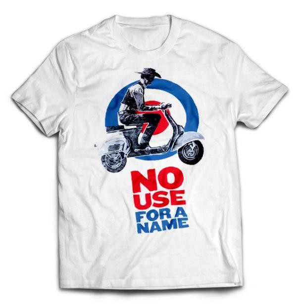 футболка белая No use for a Name