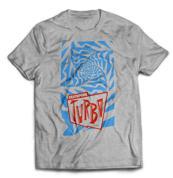 футболка серая Turbonegro