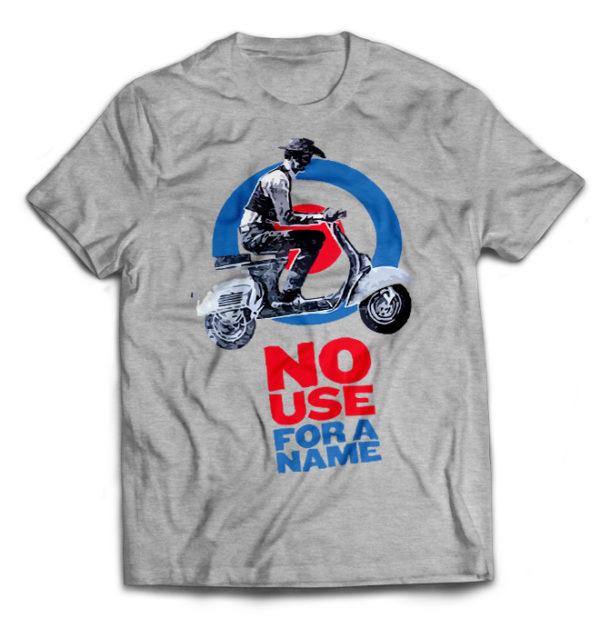 футболка серая No use for a Name