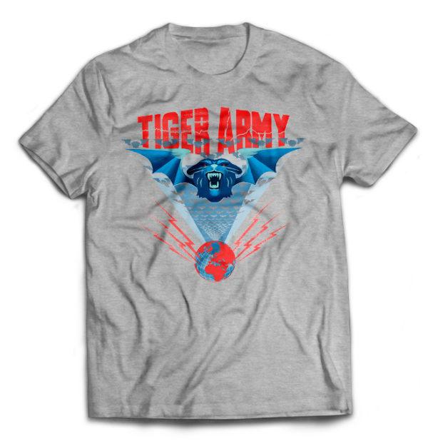 футболка серая Tiger Army