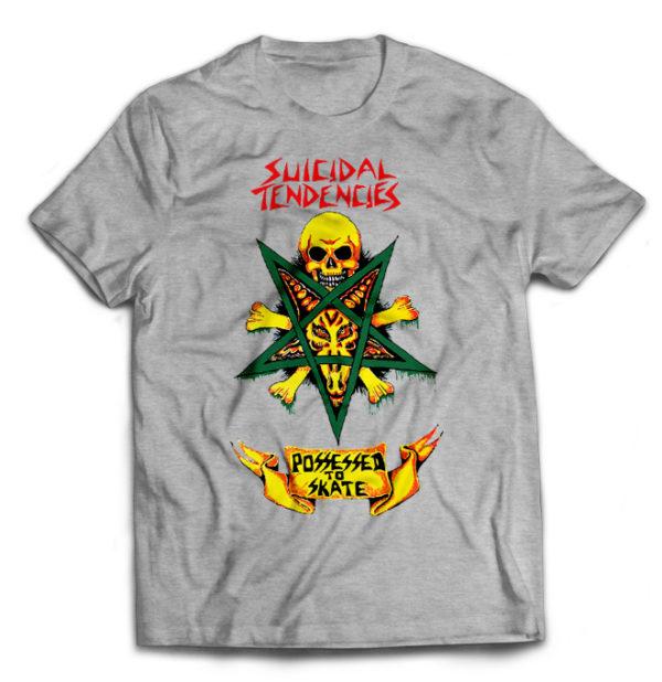 футболка серая Suicidal Tendencies