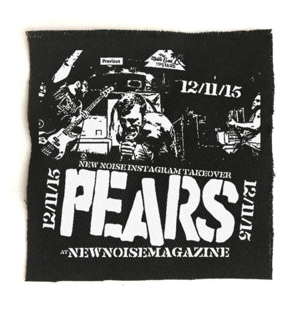 нашивка Pears