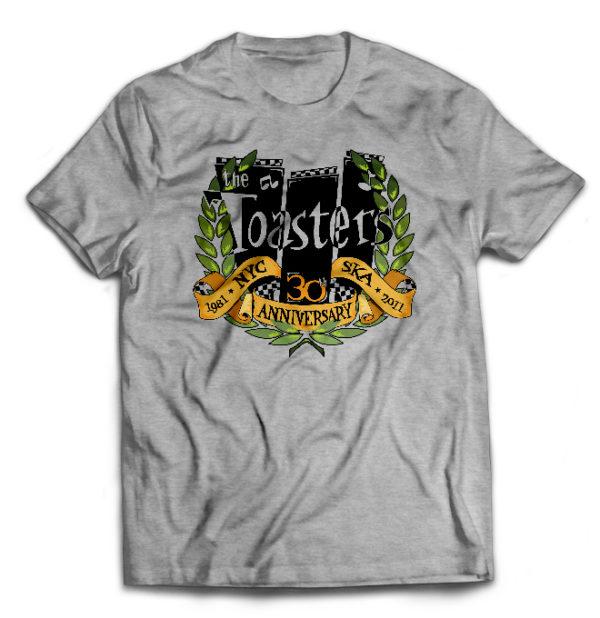 футболка серая Toasters