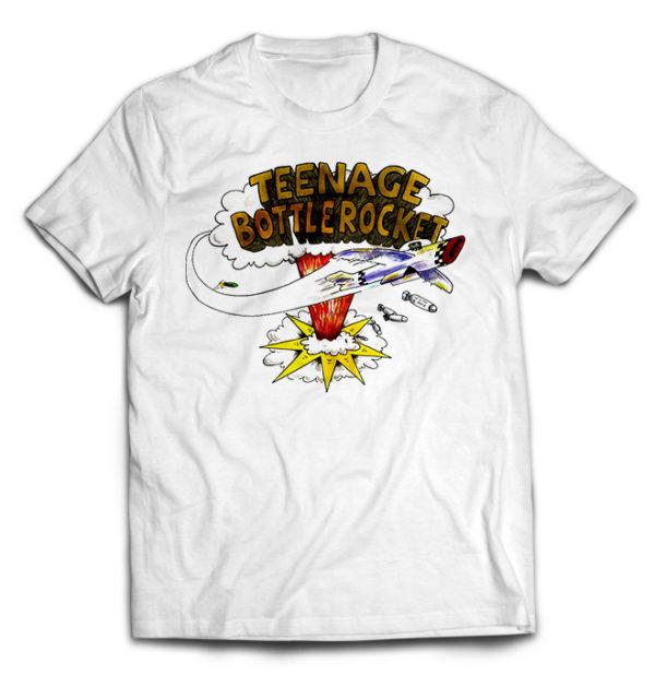 футболка белая Teenage Botlerocket