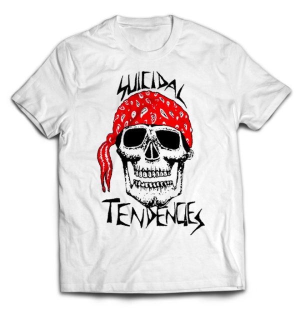 футболка белая Suicidal Tendencies