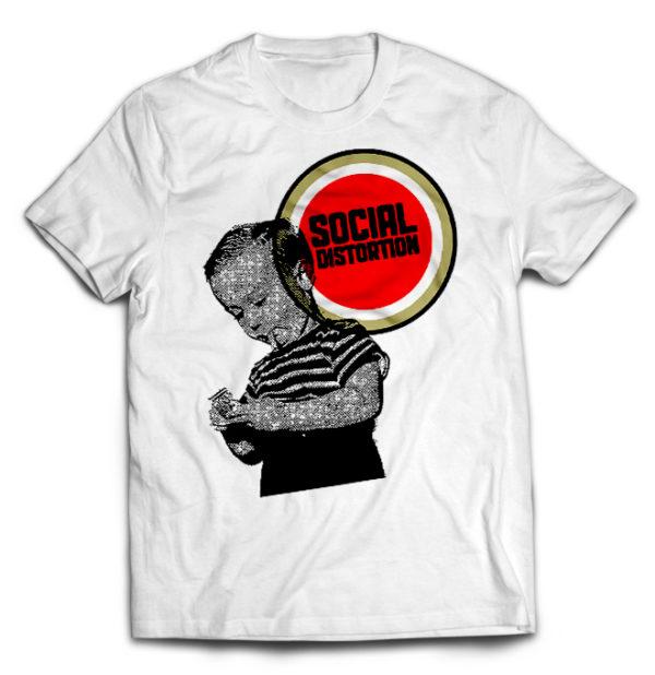 футболка белая Social Distortion