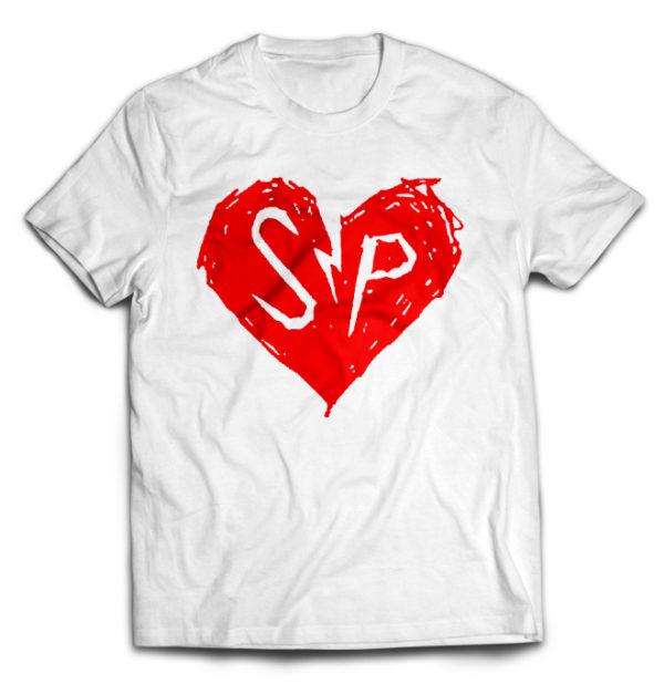 футболка белая Simple Plan