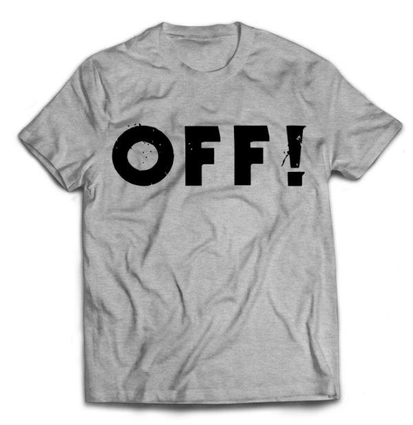 футболка серая Off