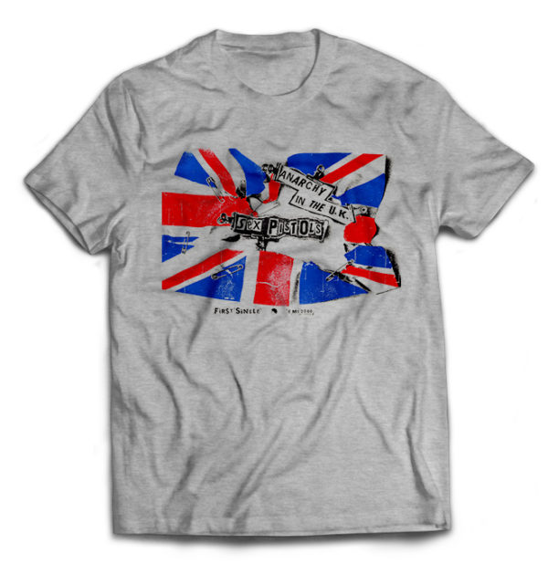 футболка серая Sex_Pistols