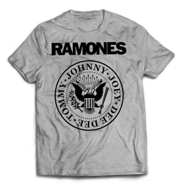 футболка серая Ramones