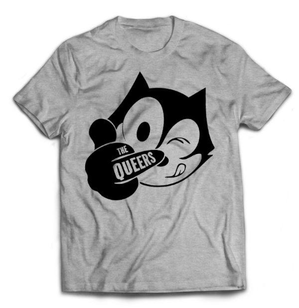футболка серая Queers