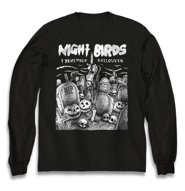свитшот Night Birds