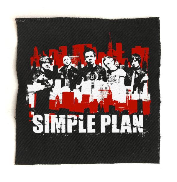 нашивка Simple Plan