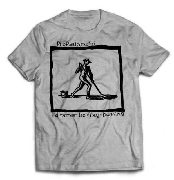 футболка серая Propagandhi