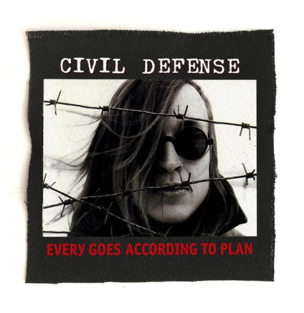 нашивка Гражданская Оборона