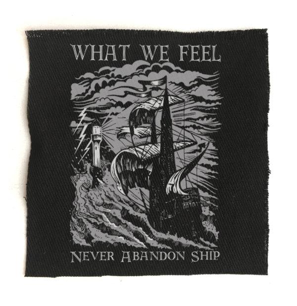 нашивка What We Feel
