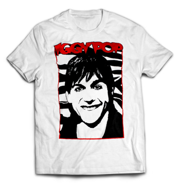 футболка белая Stooges