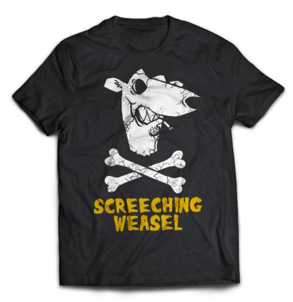 футболка Screeching Weasel