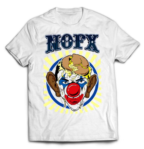 футболка белая Nofx