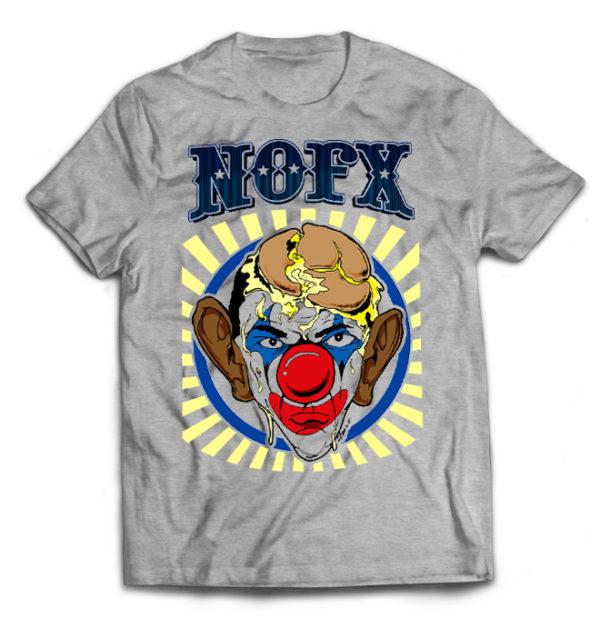 футболка серая Nofx