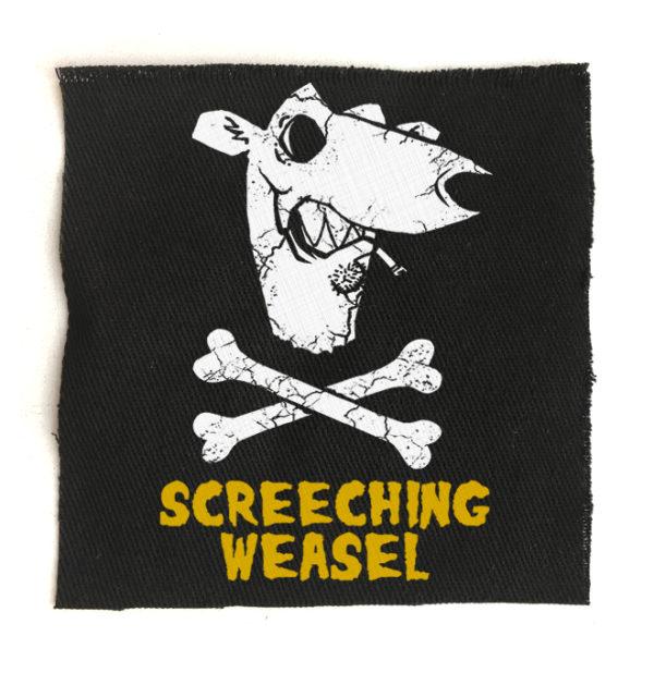 нашивка Screeching Weasel