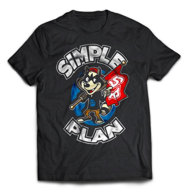 футболка Simple Plan