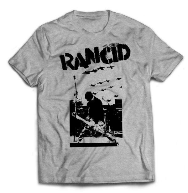 футболка серая Rancid