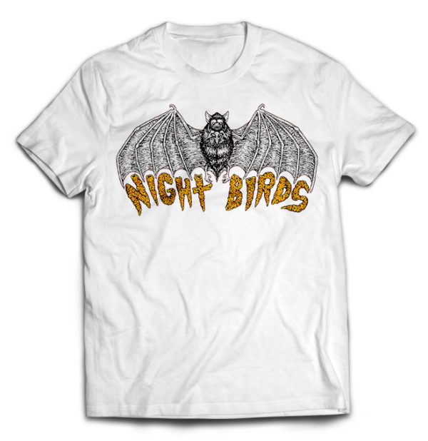 футболка белая Night Birds