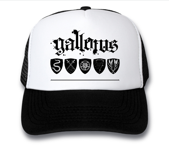 кепка Gallows