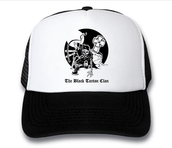 кепка Black Tartan Clan