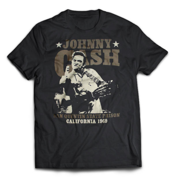 футболка Johnny Cash +++