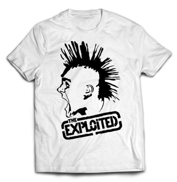 футболка белая Exploited