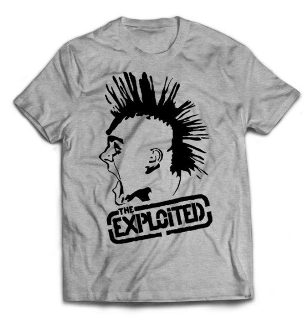 футболка серая Exploited
