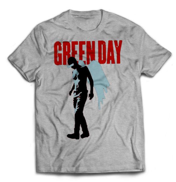 футболка серая Green day