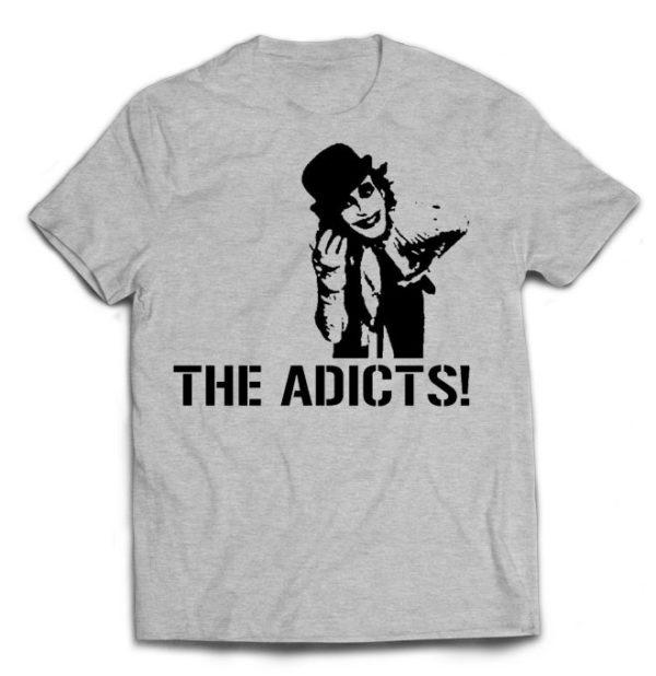футболка серая Adicts